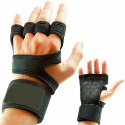 Weight Lifting Gym Gloves Full Palm Protection For Fitness T