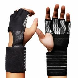 Weight Lifting Gym Gloves Men Wearable Breathable Skidproof