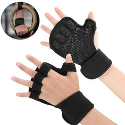 Weight Lifting Gym Gloves Training Fitness Workout Exercise