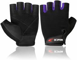 BEACE Weight Lifting Gym Gloves with Anti Slip Multi Color A