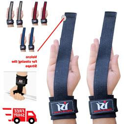 Weight Lifting Gym Straps Wraps Power Training Wrist Gloves