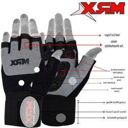 Weightlifting Gloves Gym Workout Weight Training Power Lifti