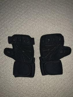 Weightlifting Gym Gloves Med size Wrist Support for Workouts