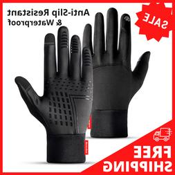 Winter Sports Gloves Touch Finger Running Gym Fitness Cyclin