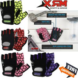 Women Fitness Gloves Ladies Weight Lifting Training Glove He