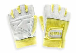 Grizzly Fitness Women's Paw Yellow Training Gloves - Lifting
