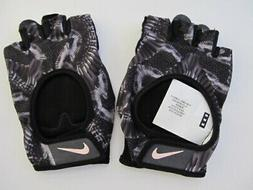 Nike Women's Printed Gym Ultimate Fitness Gloves Black/Anthr