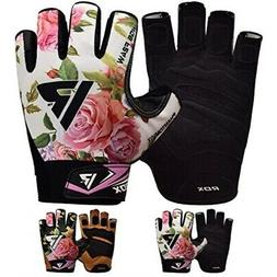 RDX Women Weight Lifting Gloves for Gym Workout - Breathable