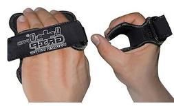 workout gloves black grip pad gym weight