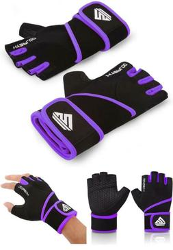 Workout Gym Gloves For Weight Lifting Men Women With Full Pa