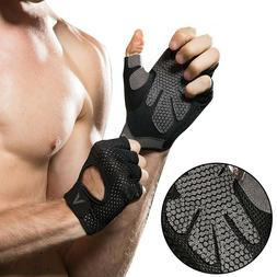 Workout Handle Bar Gloves Gym Pull Up Weight Lifting Ssports